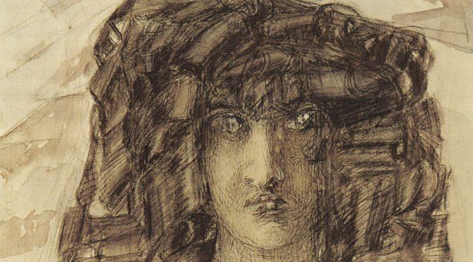 Техника портретной живописи Врубеля